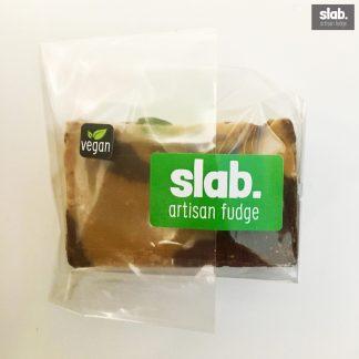 Vegan-Choc Toffee Slab - Front