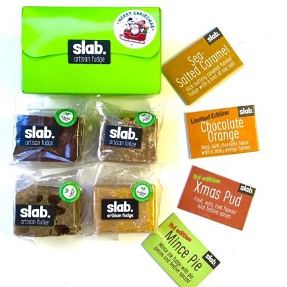 Slab Artisan Fudge Xmas Gift Box - Dairy Square