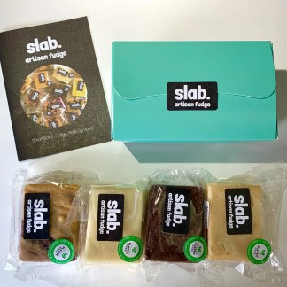 Giftbox Your Slabs - Vegan Fudge
