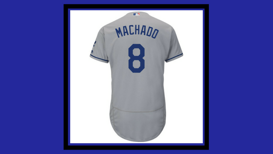 Jerry Hairston Jr. Says Manny Machado Will Wear No. 8 on Dodgers Jersey –  Slackie Brown 720fac8dcfa