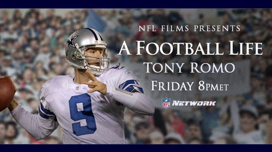 """6f5d5aab0 NFL Network will air their latest """"A Football Life"""" documentary on Friday  featuring Dallas Cowboys legend Tony Romo."""