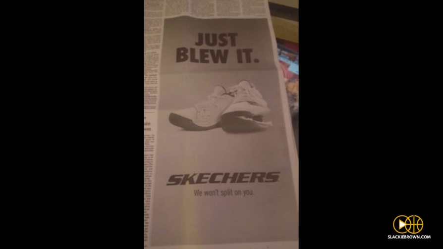 new concept d9f79 a38ac Skechers Earned Some Street Cred With Nike Diss