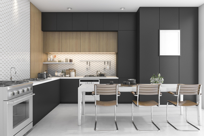 Decorar tu cocina de negro Elegancia en estado puro