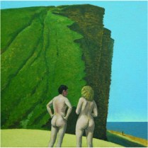 8. East Cliff with Figures