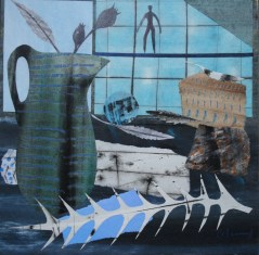 Marzia Colonna Studio window in the evening signed limited edition giclée print edition of 55 £155 mounted, £225 framed