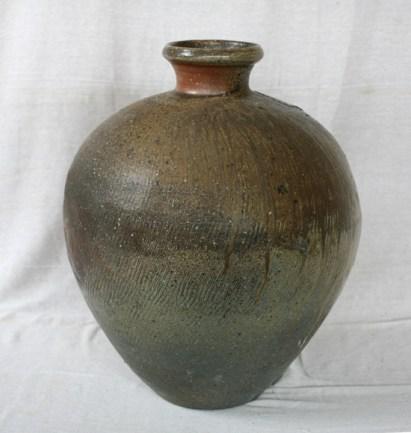 Svend Bayer 1. Very large Jar, wood ash glazed, 67 x 50cm £3,240