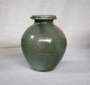 Svend Bayer 13. Jar, celadon glaze, 23 x 27cm £405