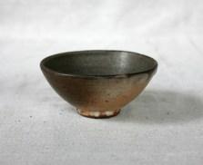 Svend Bayer 43. Bowl shino glaze, 6 x 13cm £80