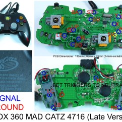 Xbox 360 Controller Circuit Board Diagram 2000 Ford Explorer Exhaust Wired Schematic Get Free Image
