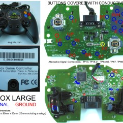 Xbox 360 Controller Circuit Board Diagram Msd Two Step Wiring Pcb Led