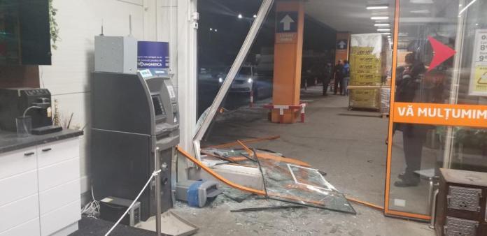 Bankautomata robbantas