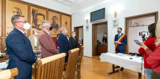 Antal Árpád eskületétel