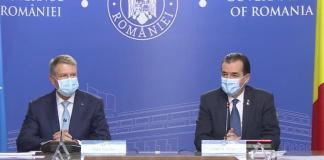 Klaus Johannis és Ludovic Orban