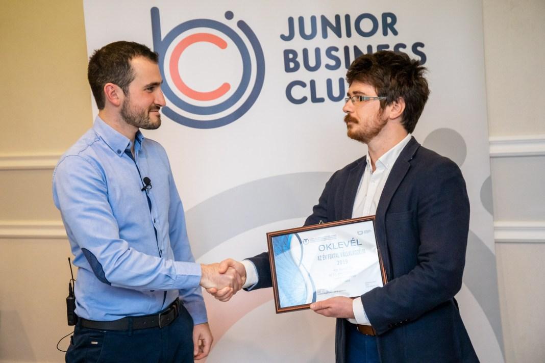 JBC - Az év fiatal vállalkozója díj