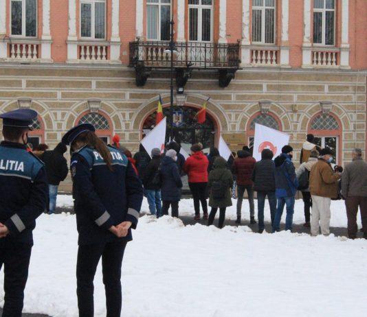 Sanitas tüntetés