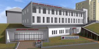 Tüdőkórház látványterv