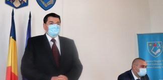 Ráduly István prefektus és Dulányi Balogh Szilárd alprefektus