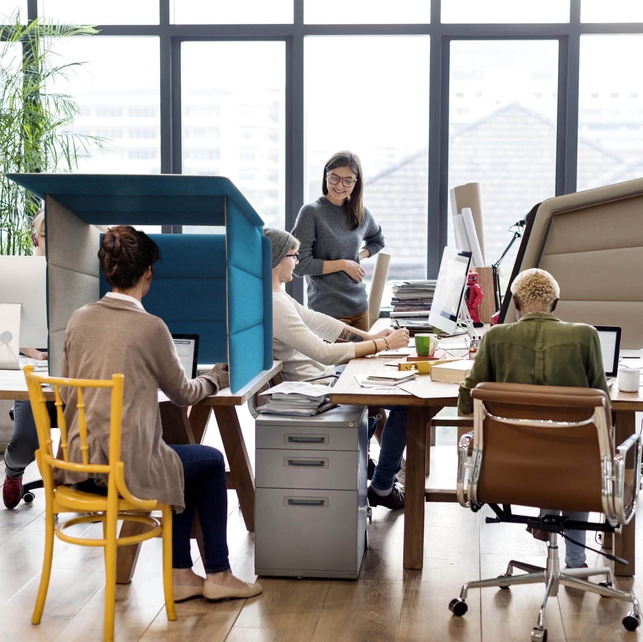 ECObooth uw werkplek thuis