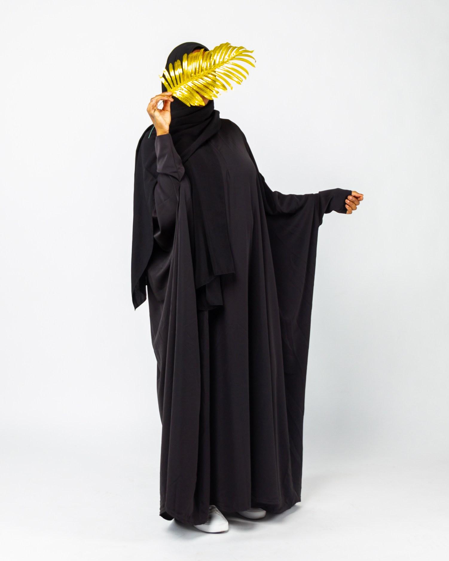 Abaya Diarra SlamLady Collection Basique Noir