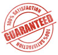 100& Satisfaction Guaranteed