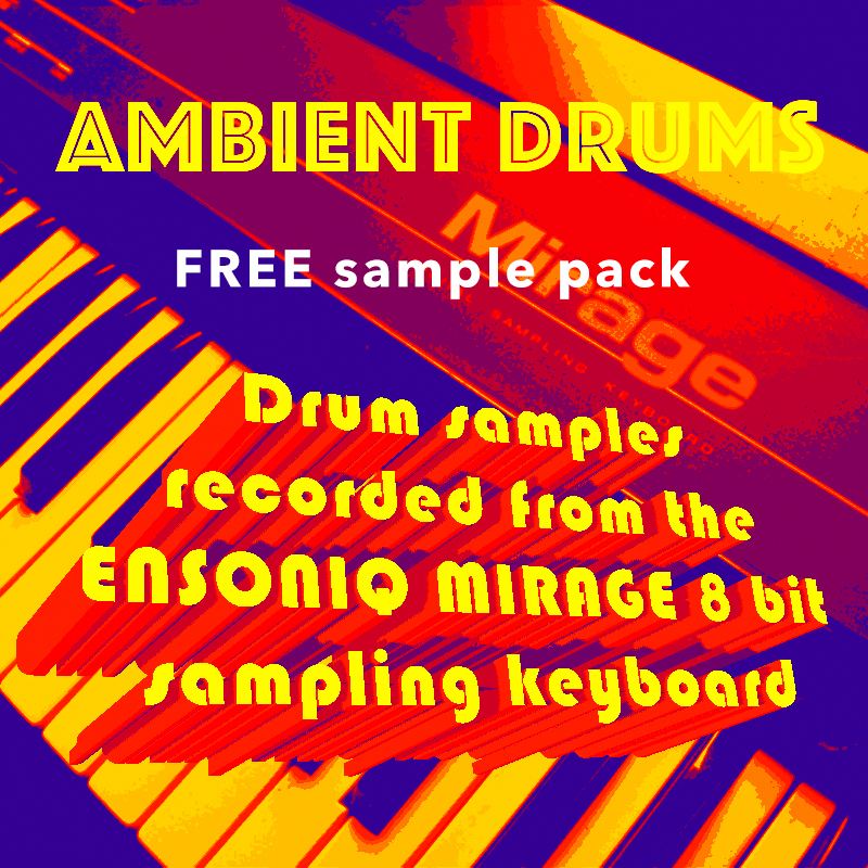Ensoniq Mirage - Ambient Drums - SlammingSamples