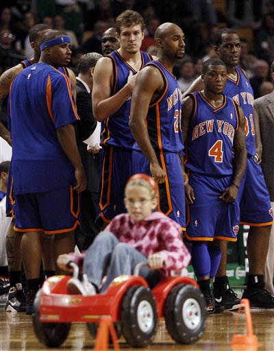 Knicks Celtics Basketball