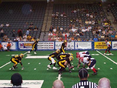 Iowa Blackhawks in Action