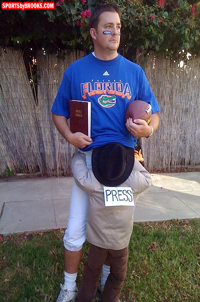 Tim Tebow Halloween Costume