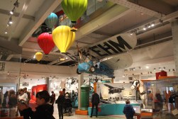 1. Inside the museum the environment is fairly busy and noisy with children touching and interacting with the installations. We will need to consider the noise pollution when we design our exhibit..