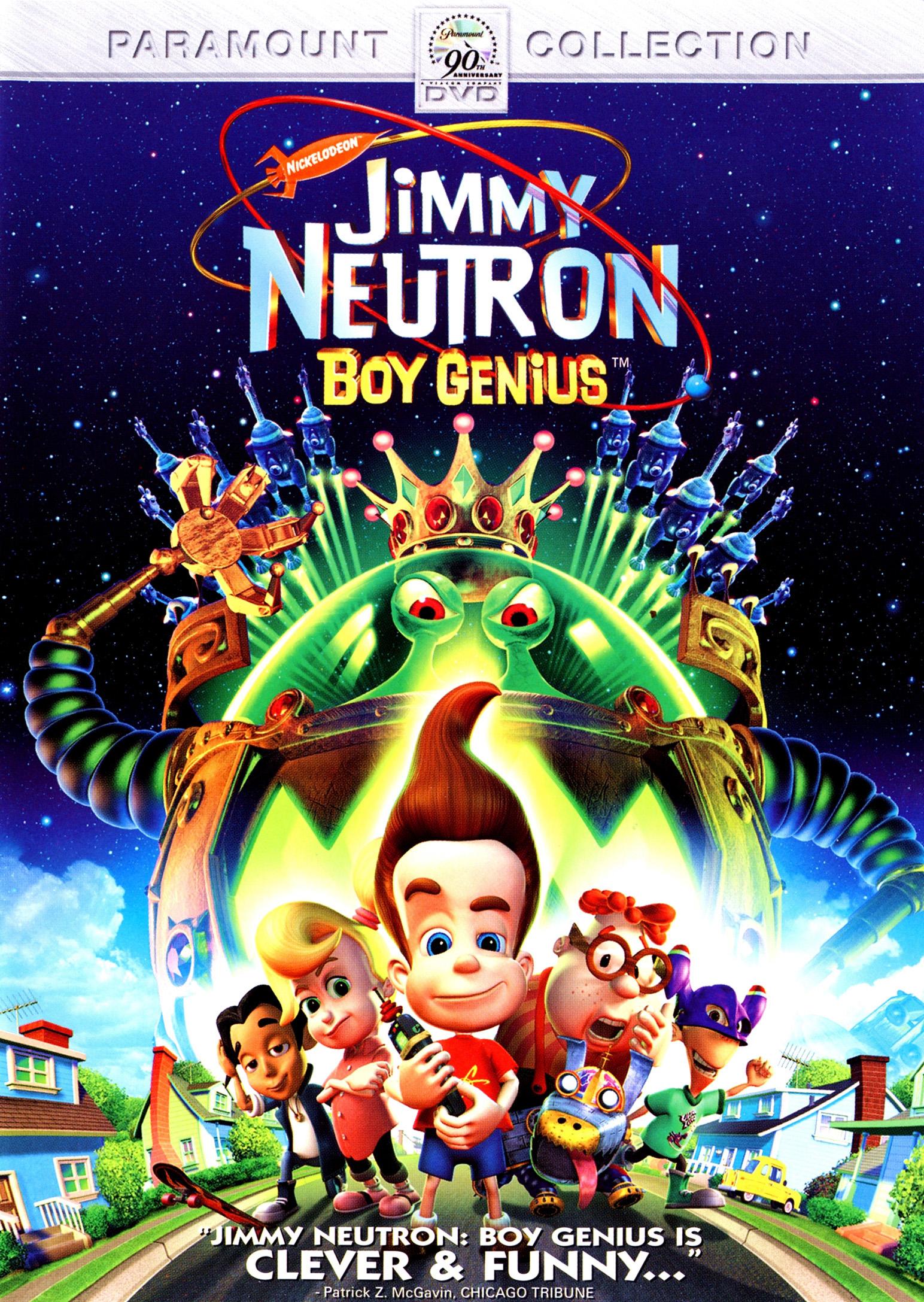 When Did Jimmy Neutron Come Out : jimmy, neutron, Review:, Jimmy, Neutron:, Genius, Paramount, Entertainment, Slant, Magazine