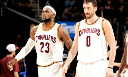 LeBron James Mocks 18 Year Old Kevin Love's Sneakers Via Twitter