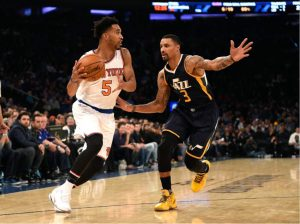 Knicks Fall Apart Late, Fall To Jazz 114-109