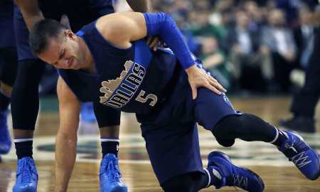 Mavs Injury Woes Mount, JJ Barea Sidelined Six Weeks 1