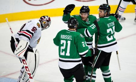 What forwards are gonna make the 23-man roster for Dallas -