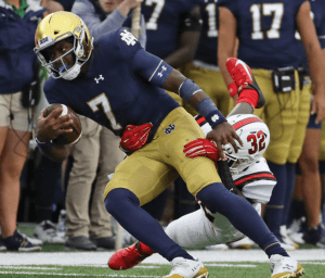 Flaherty's Fighting Irish Recap: A Step Backwards 3