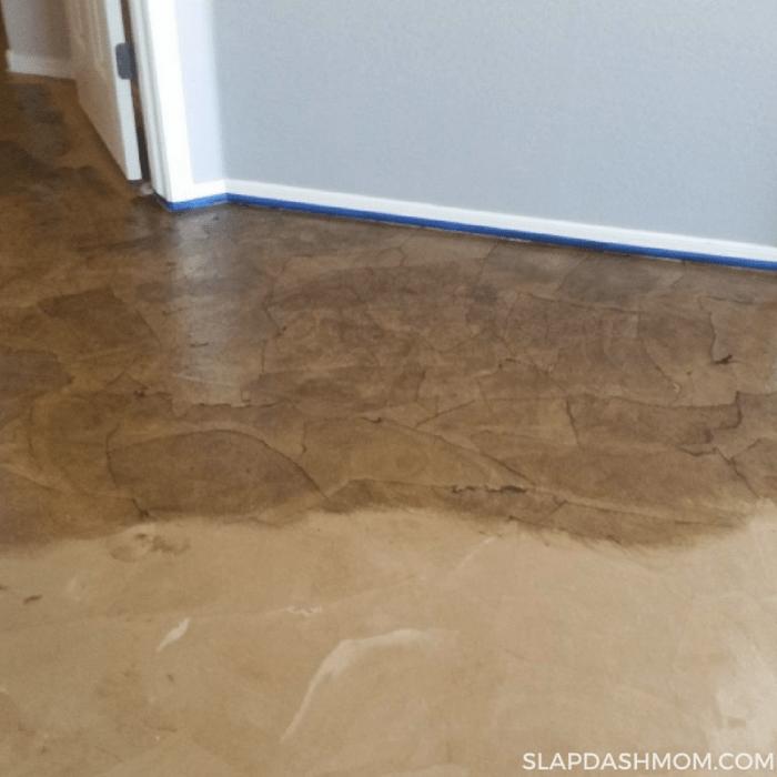 Paper Bag Floor DIY  Easy Step by Step Tutorial  Slap Dash Mom