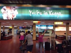 We made it to Kenya!