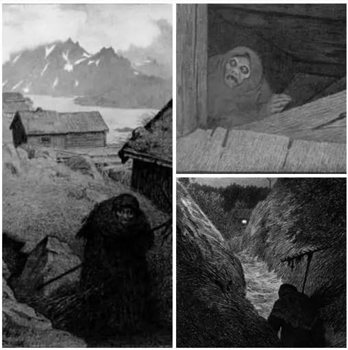 10 Creepy Creatures From Scandinavian Folklore Slapped Ham