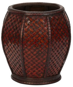 Nearly Natural 0513 Rounded Weave Decorative Planters