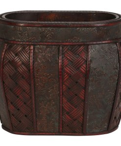 Nearly Natural 0518 Oval Decorative Planter