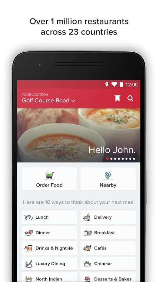 Food Apps - Zomato is popular among foodies.