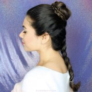 2 princess leia hair tutorials