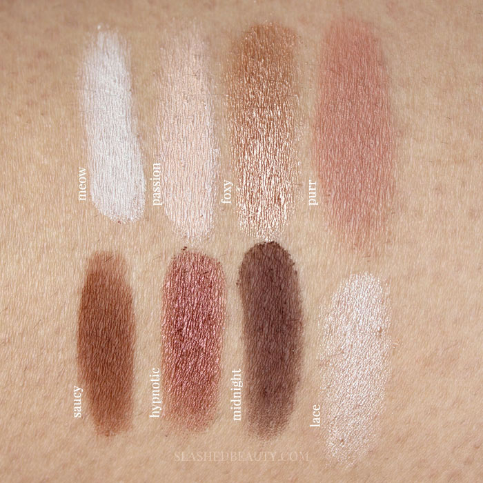 review swatches tarte maneater