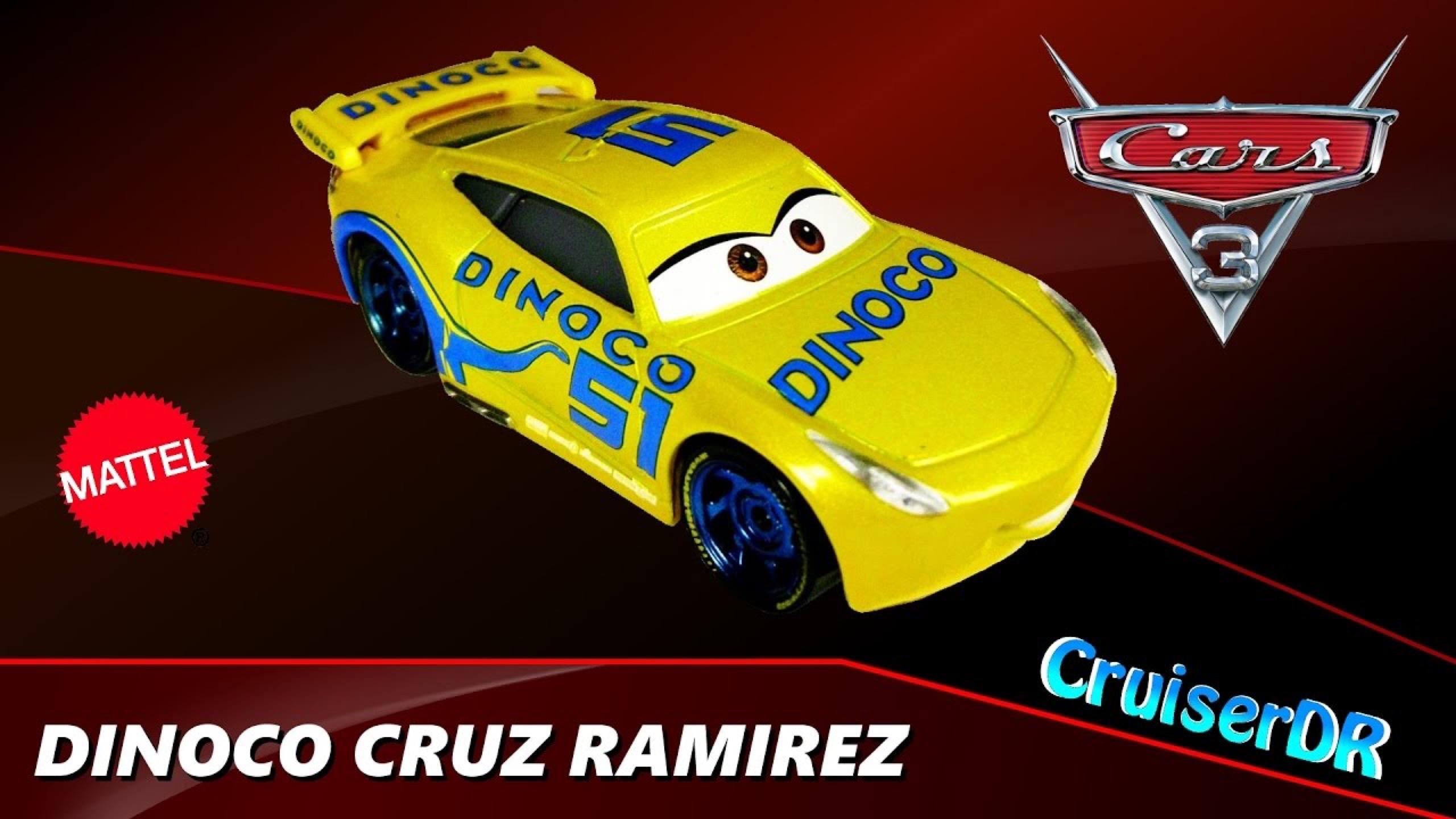 Dinoco Toy Videos Disney Pixar Cars Cars 3 Dinoco 400 Lee Revkins 155