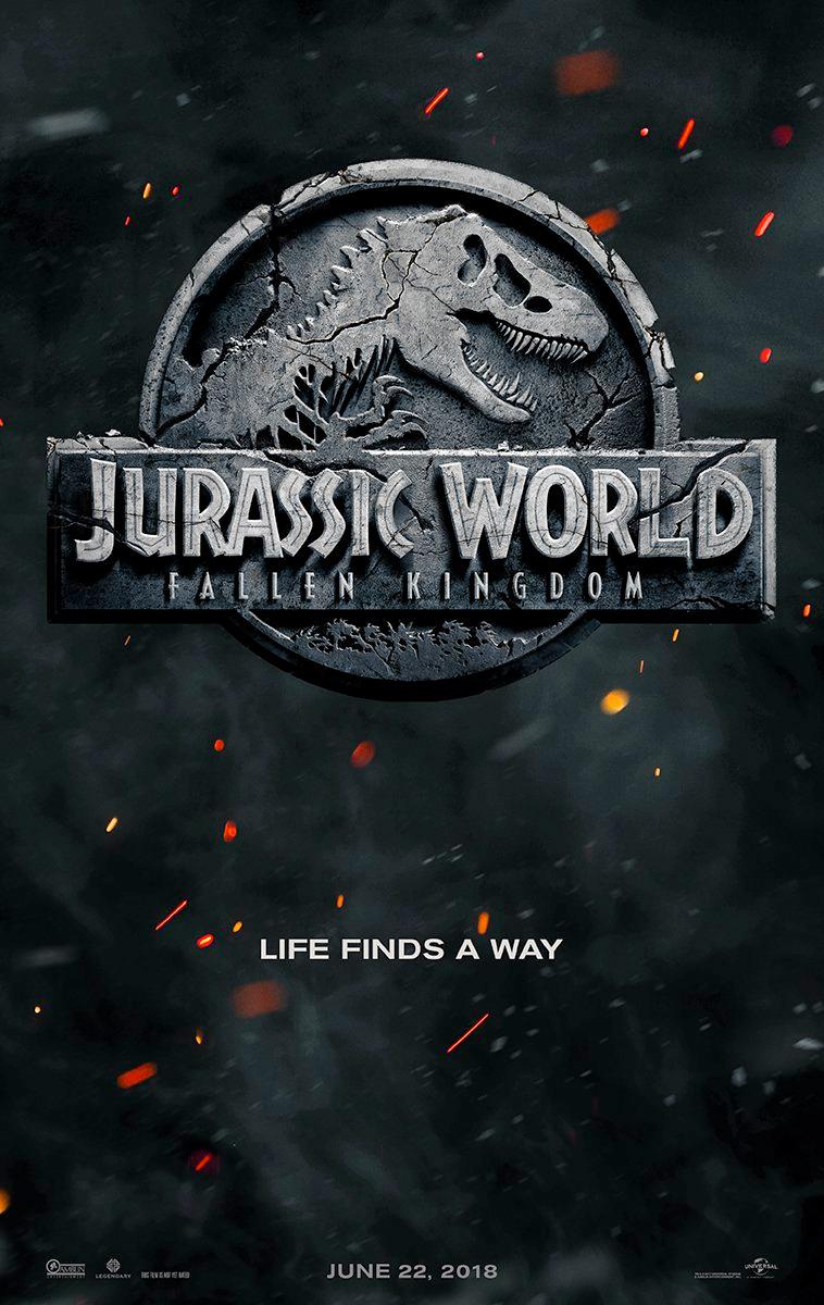 Jurassic World 2 : Fallen Kingdom : jurassic, world, fallen, kingdom, Jurassic, World:, Fallen, Kingdom, Official, World, Title