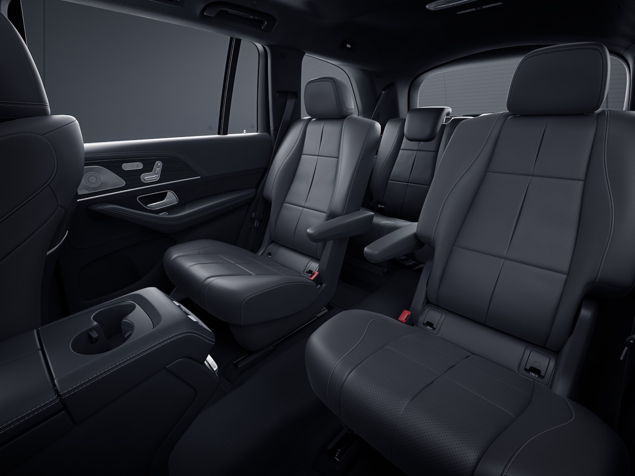 Suv With Captain Chairs 2020 Mercedes Benz Gls Packs Full Size Suv With Gadgets Slashgear