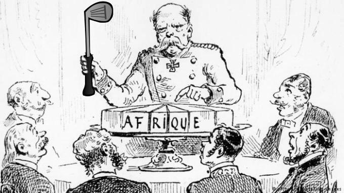 1884 – Golf over Africa, LudumDare 41