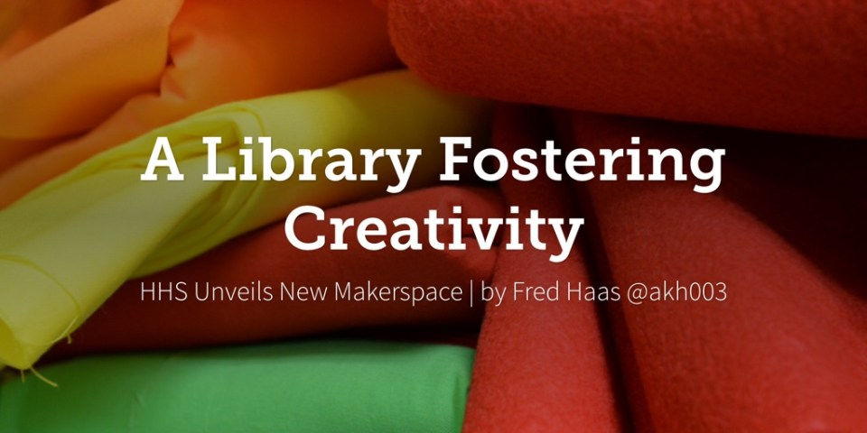 A Library Fostering Creativity