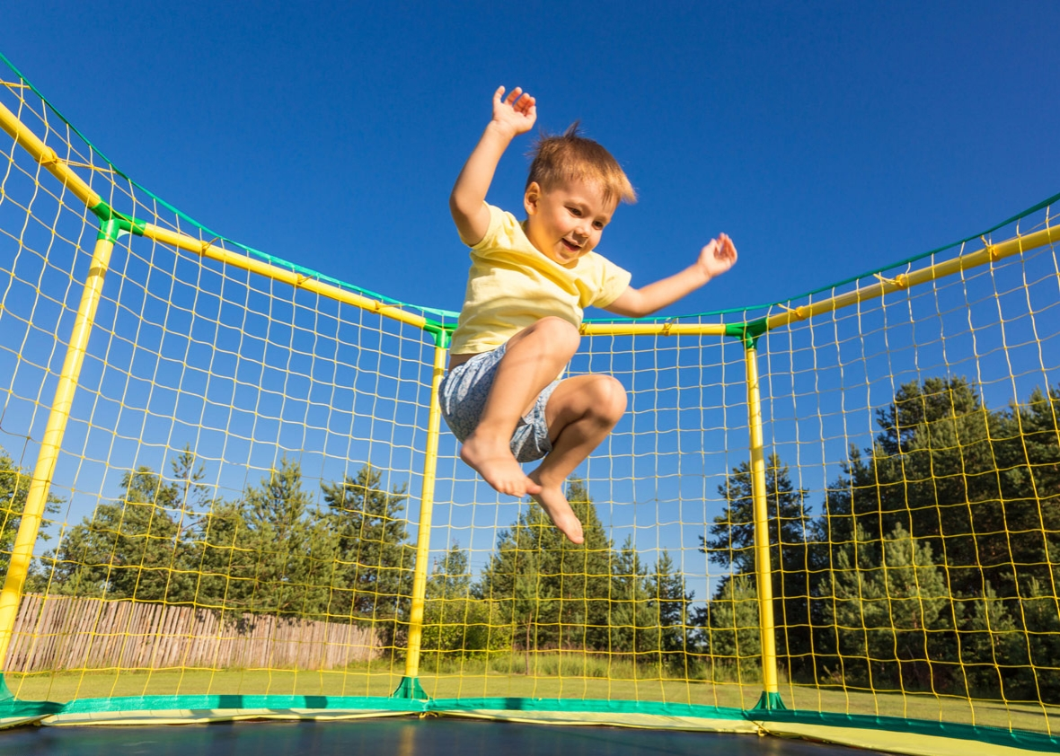 Children Are At A High Risk Of Injury When They Jump On