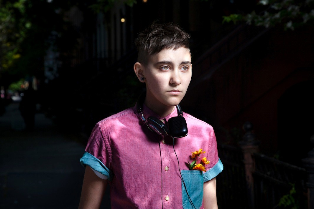 M Sharkey Photographs Of Queer Youths On Display At The